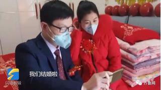 Cặp đôi tổ chức hôn lễ trong 10 phút  rồi quay lại phục vụ