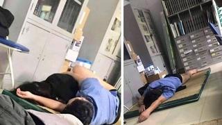 Bác sĩ cởi quần ôm sinh viên ngủ trong ca trực 'là hành động vô thức'