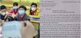 Học sinh Nam Định được nghỉ thêm 6 ngày để phòng virus corona
