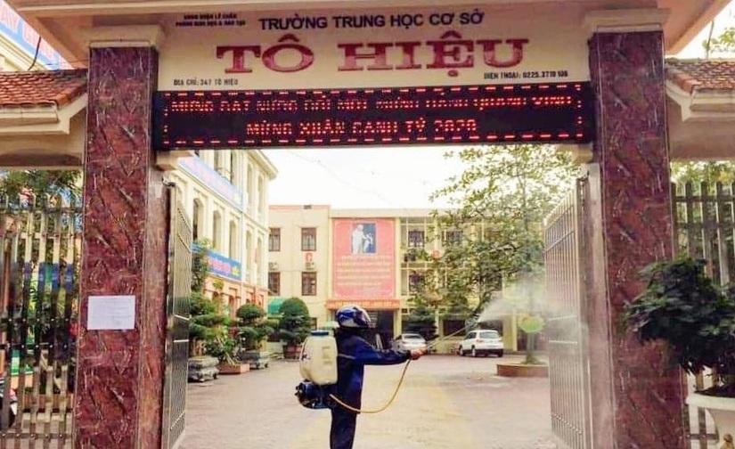 Hải Phòng lại cho học sinh nghỉ học để phòng chống dịch