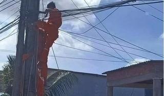 Nhân viên điện lực bị điện giật tử vong ở Cà Mau