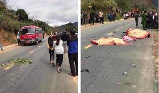 Va chạm với xe khách, 3 người trong một gia đình tử vong