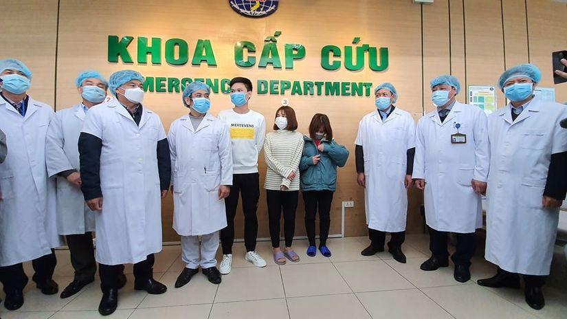 3 bệnh nhân Vĩnh phúc nhiễm virus corona được xuất viện