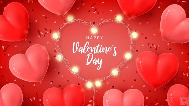 Những lời chúc Valentine lãng mạn, ngọt ngào dành cho người yêu