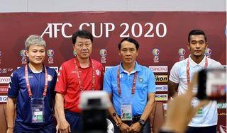 HLV Chung Hae Seong tự tin có chiến thắng đầu tiên ở AFC Cup