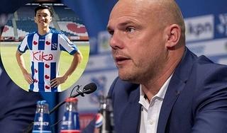 HLV CLB Heerenveen mang tin vui tới Đoàn Văn Hậu?