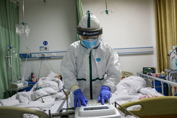 Gần 100 người chết do virus corona trong 1 ngày