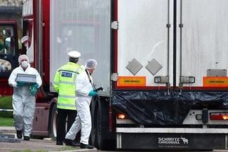 Công bố nguyên nhân 39 người Việt thiệt mạng trong container ở Anh