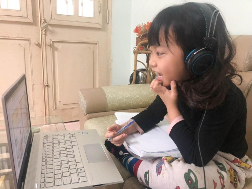 Sunshine Maple Bear tổ chức dạy trực tuyến cho học sinh tại nhà1