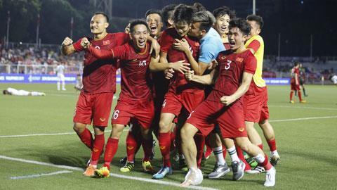 Báo Indonesia chế giễu chiếc huy chương vàng ở SEA Games 30 của Việt Nam