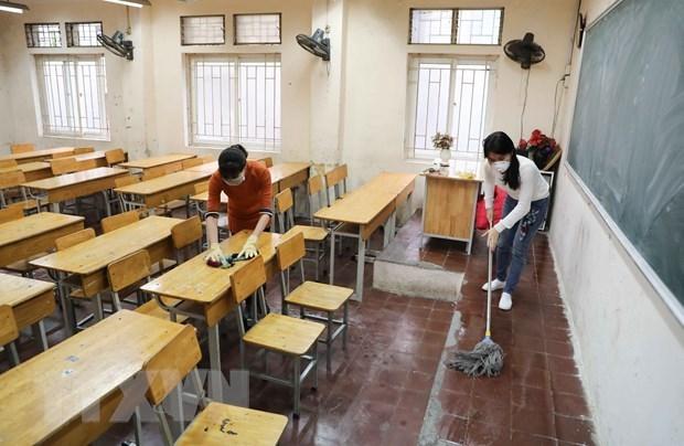 Phó Thủ tướng Vũ Đức Đam: 'Bộ Giáo dục phải bảo đảm an toàn sức khỏe cho học sinh khi đi học trở lại'