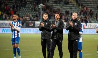 Đội phó Heerenveen thừa nhận sự thật đau lòng sau trận thua Vitesse