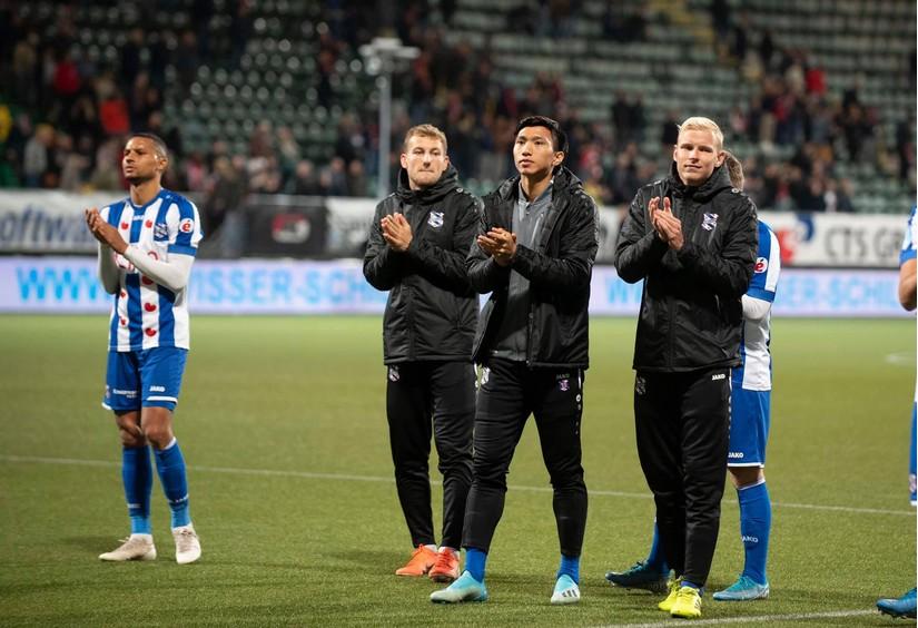 Đội phó Heerenveen thừa nhận sự thật đau lòng sau trận thua trước Vitesse