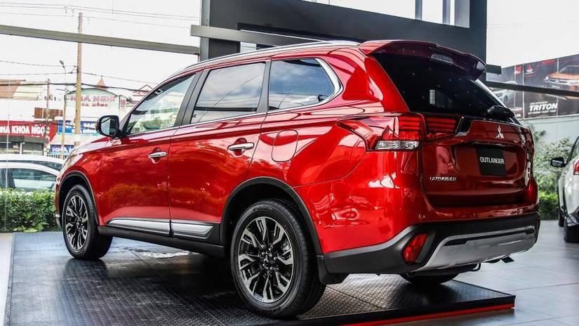 Mitsubishi Outlander 2020 ra mắt tại Việt Nam giá từ 825 triệu đồng1