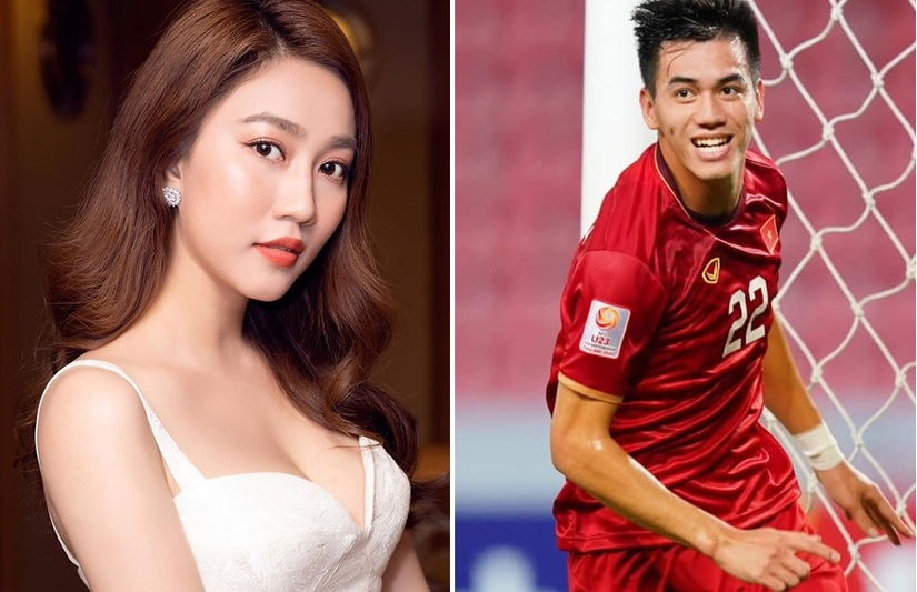 Tiền đạo Tiến Linh công khai thả thính nữ diễn viên 9X xinh đẹp