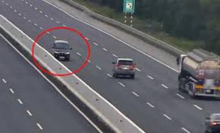 Phạt nặng tài xế chạy xe ngược chiều ở làn 120 km/giờ trên cao tốc