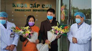 Thêm hai bệnh nhân Vĩnh Phúc được xuất viện, Việt Nam chỉ còn ba ca nhiễm Covid-19