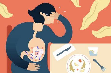 viêm dạ dày ruột khác với ngộ độc thực phẩm