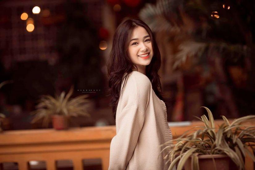 Nữ sinh Bắc Ninh gây thương nhớ với vẻ đẹp trong trẻo9