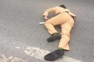 Danh tính đôi nam nữ vượt đèn đỏ, tông chiến sĩ CSGT bất tỉnh