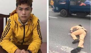 Công an tìm nhân chứng vụ nam thanh niên tông CSGT bất tỉnh