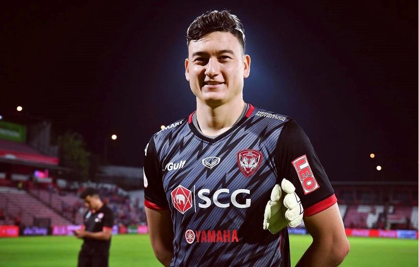 Thai League vinh danh Đặng Văn Lâm sau lượt trận đầu tiên