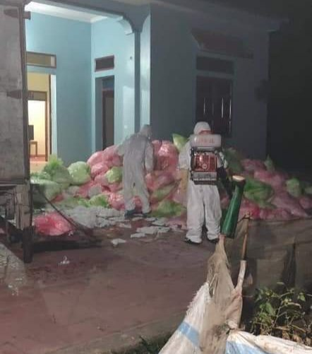Thu giữ hơn 600kg khẩu trang qua sử dụng được thu mua từ Vĩnh Phúc