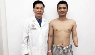 Thực hiện thành công ca phẫu thuật ghép cánh tay từ người hiến còn sống