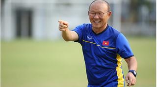 HLV Park Hang Seo hướng tới việc đổi mới đội tuyển Việt Nam