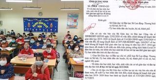Quảng Ninh là tỉnh đầu tiên cho học sinh đi học trở lại từ ngày 2/3
