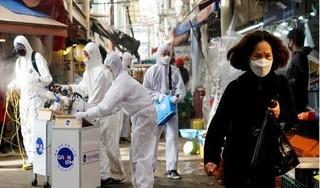 Một ngày gần 600 ca nhiễm Covid-19, Hàn Quốc tăng vượt cả Trung Quốc