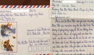 Bé gái lớp 5 viết thư gửi mẹ: