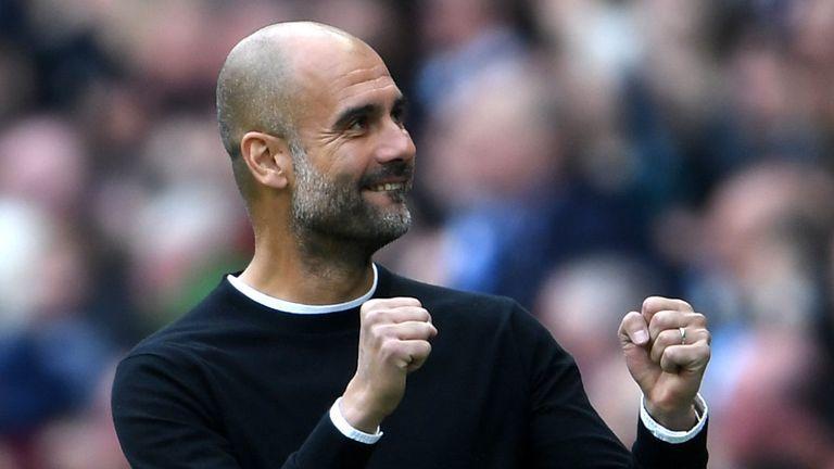 HLV Pep Guardiola lập kỷ lục ấn tượng