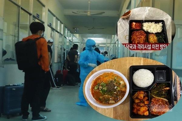 Sự thật về suất ăn tồi tệ cho du khách Hàn Quốc bị cách ly ở Đà Nẵng