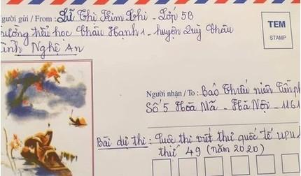 Nghẹn ngào đọc thư gửi mẹ của học sinh tiểu học: