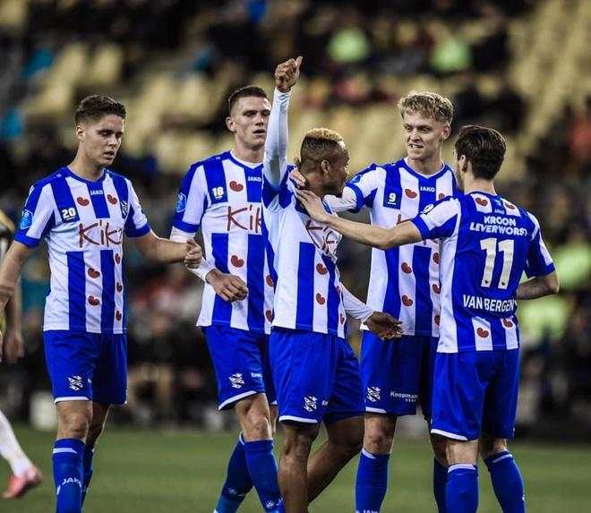 Đội hình SC Heerenveen ở vòng đấu 25