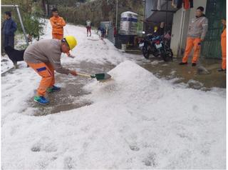 Thống kê thiệt hại nặng nề sau trận mưa đá kinh hoàng ở miền núi phía Bắc