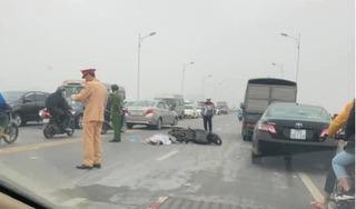 Truy tìm phương tiện gây tai nạn trên cầu Vĩnh Tuy khiến một người tử vong