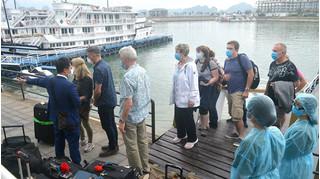 Hành trình di chuyển tại Quảng Ninh của 4 người nước ngoài nhiễm Covid-19