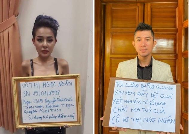 Lương Bằng Quang nói gì về tấm hình Ngân 98 cầm biển nhận dương tính với ma túy