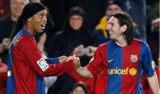 Lionel Messi chi số tiền lớn để 'giải cứu' Ronaldinho?