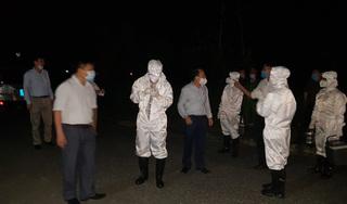 Nghệ An chặn xe khách đưa người có biểu hiện ho sốt vào khu cách ly
