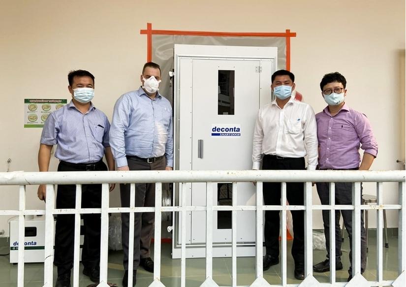 Hà Anh Tuấn tài trợ 3 phòng áp lực âm chống dịch Covid-19