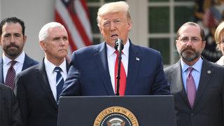 Trump tuyên bố tình trạng khẩn cấp quốc gia chống Covid-19