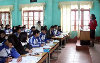 Lạng Sơn thông báo lịch đi học trở lại của học sinh THCS