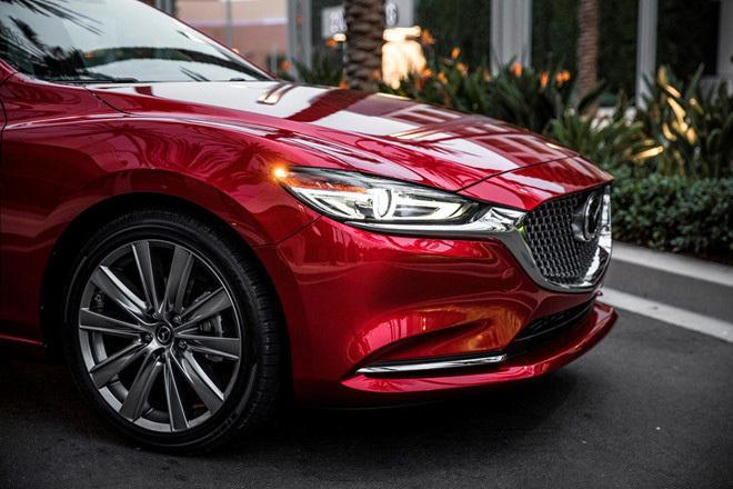 Mazda6 2020 ngụy trang kín đáo chạy thử tại Việt Nam4