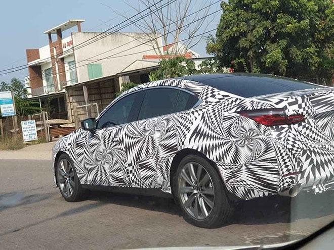 Mazda6 2020 ngụy trang kín đáo chạy thử tại Việt Nam2