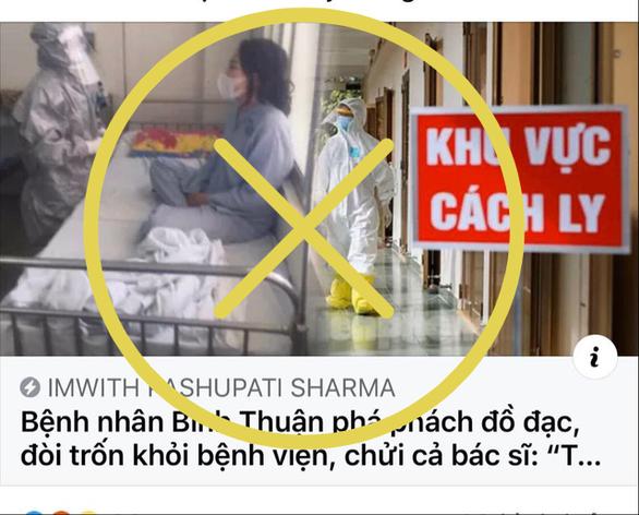 Thêm thông tin bất ngờ bệnh nhân covid 19 đập phá đồ đạc, trốn khỏi bệnh viện