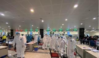 90 cán bộ y tế lấy mẫu xét nghiệm Covid-19 làm việc hết mình xuyên màn đêm