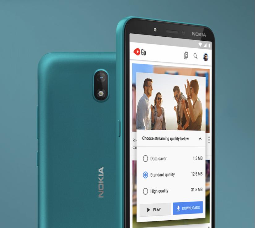 Điện thoại Nokia C2 ra mắt, giá siêu rẻ